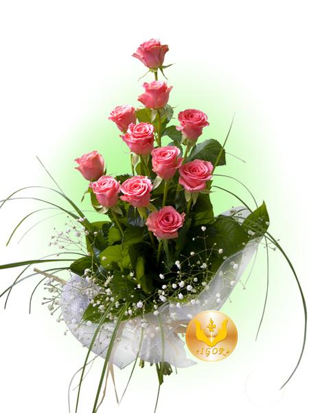 """Букет """"Рожевий Фламінго"""""""