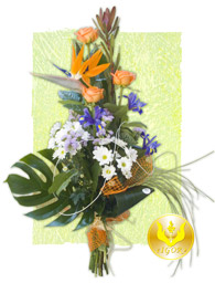"Bouquet ""Golden Cockerel"""